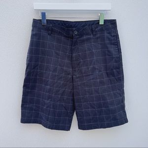 Champion Shorts Duo Dry 32 black athletic plaid